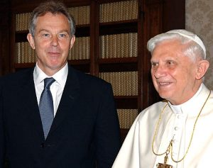 Blair and Pope Benedict