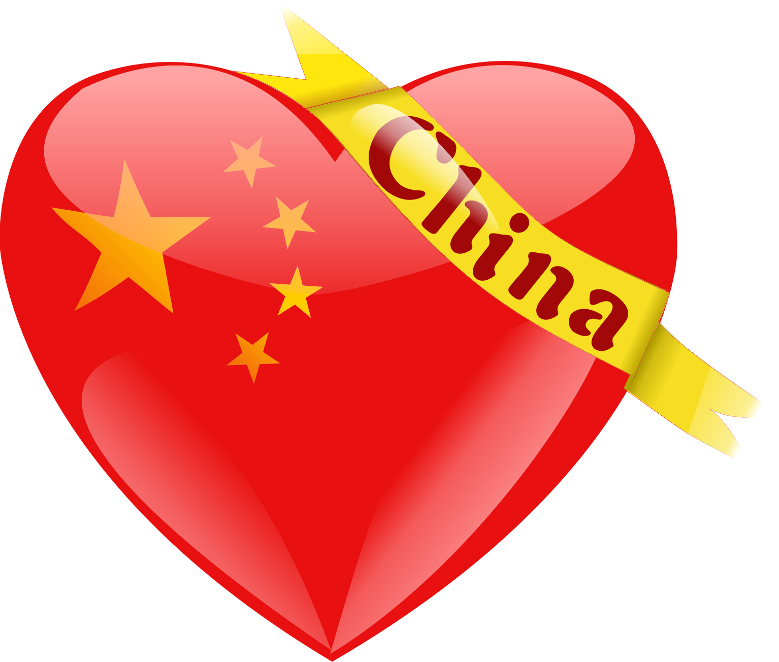 I love china in chinese