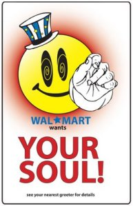 Walmart wants your soul